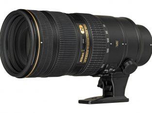 Nikkor Nikon 70-200 f2.8 VR